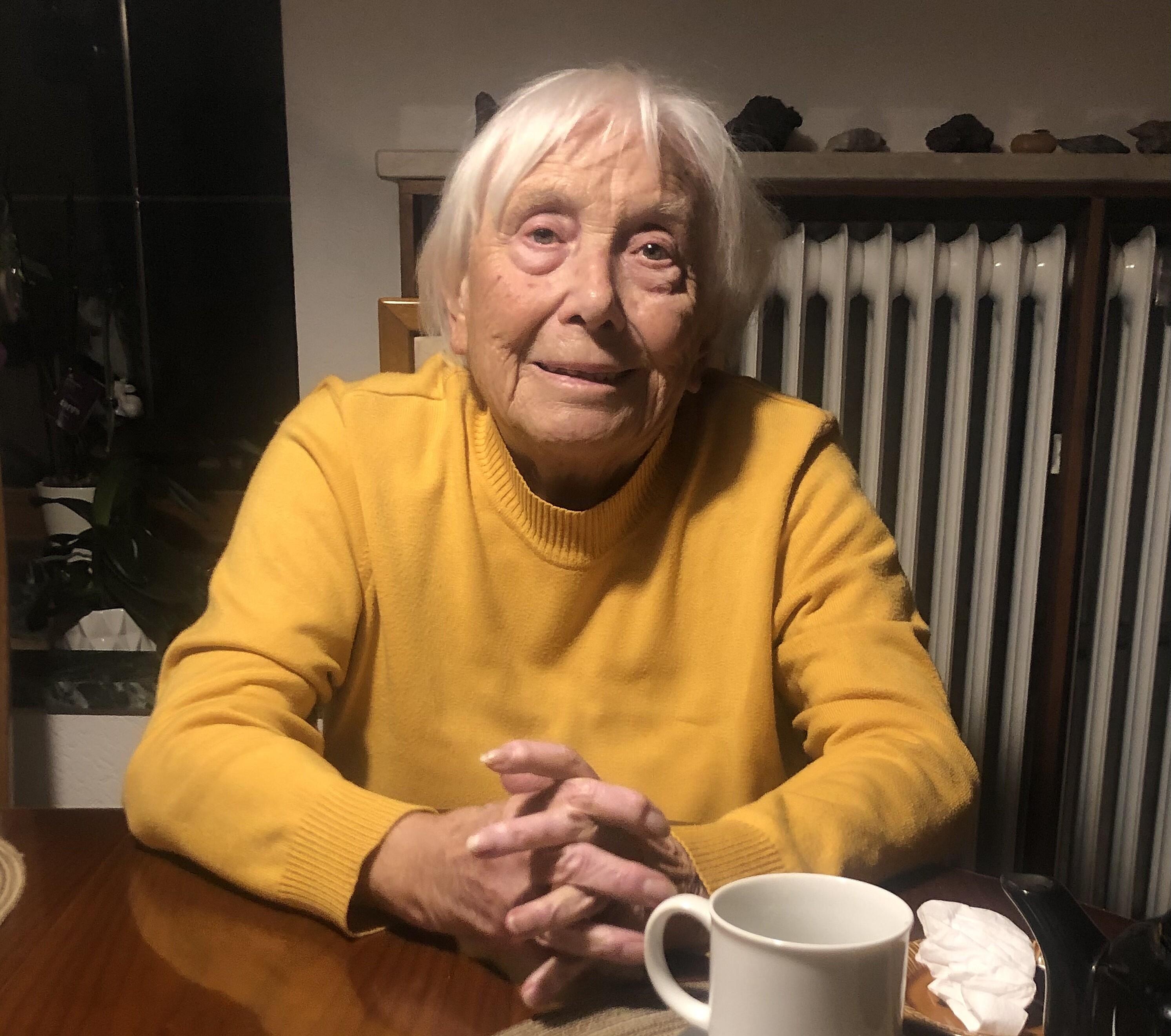 Bild von der Gedenkseite für Jarmila Schlei