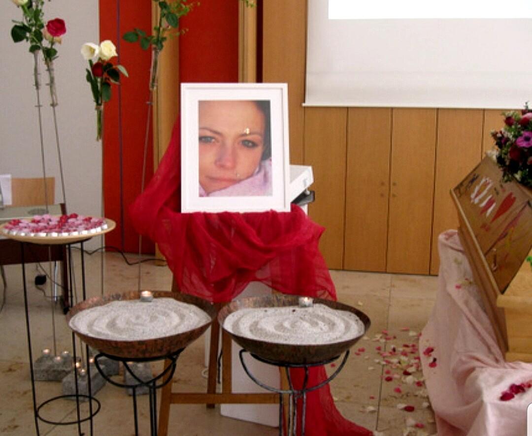 Bild von der Gedenkseite für Eva Christina Peter