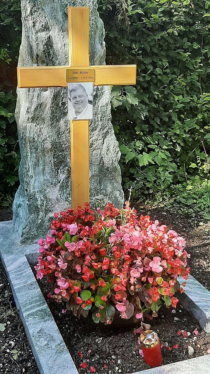 Bild von der Gedenkseite für Jens Hibbe