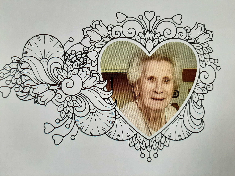 Bild von der Gedenkseite für Hilde G.