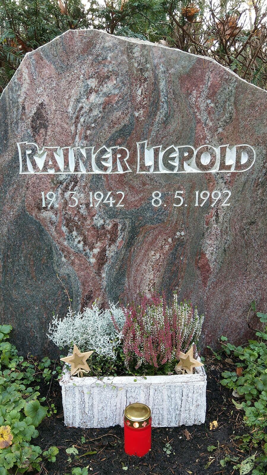 Bild von der Gedenkseite für Rainer Liepold