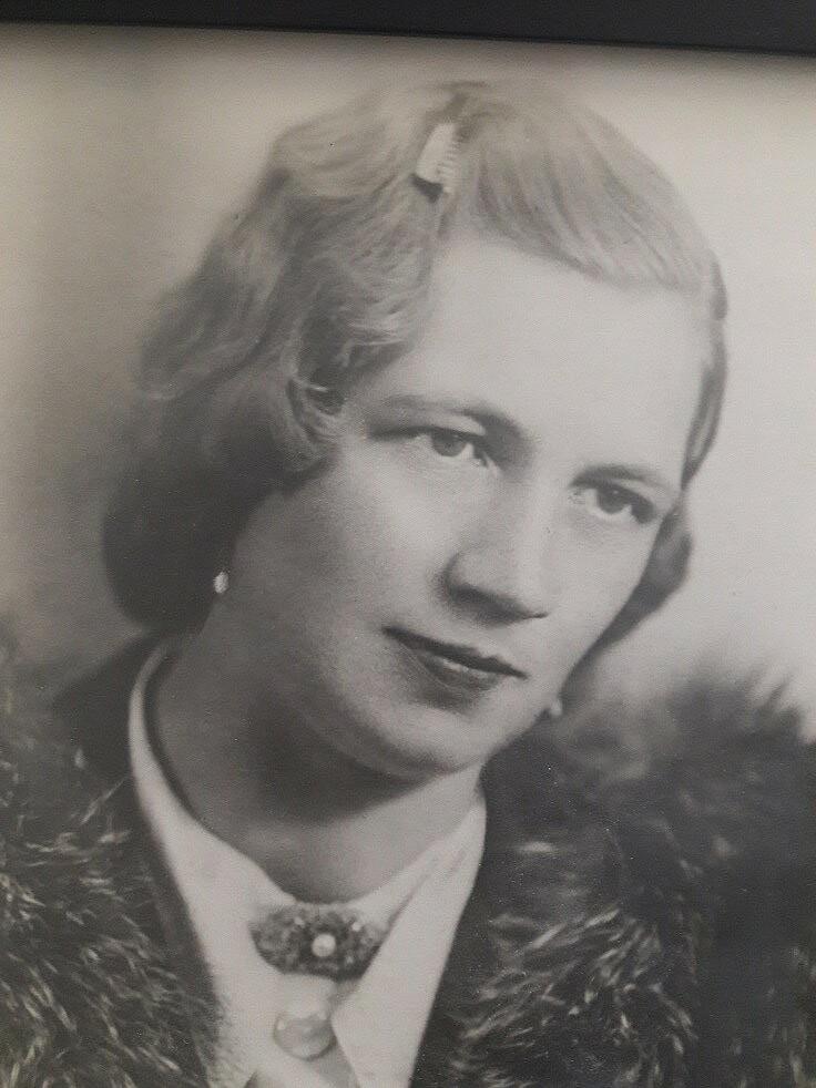 Bild von der Gedenkseite für Ernestine